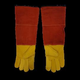 Bescherm handschoen leder