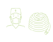 Maskers, tracheaaltubes