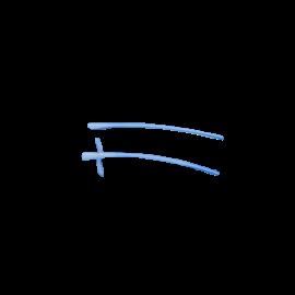 Tomcat catheter open/closed end