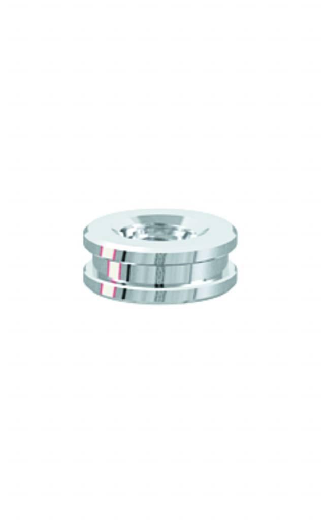 ALPHADENT NV RA 63 TI - CEKA AXIAL CLASSIC M2: Matrize zur Verankerung in Kunststoff. Basisring zum Angießen an Edelmetalllegierungen.
