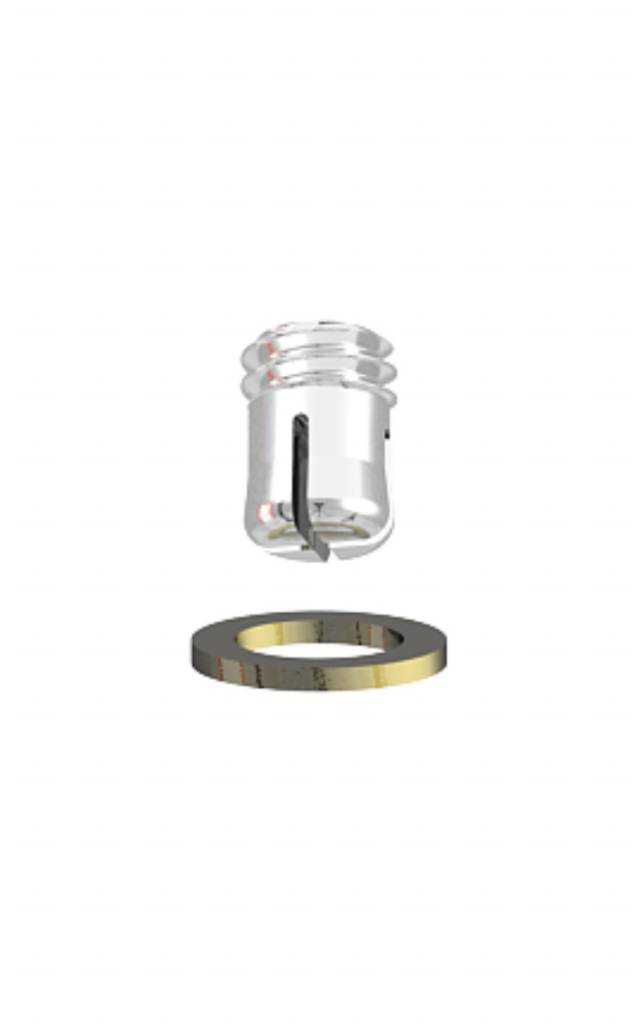 ALPHADENT NV RE 0795 TI - CEKA AXIAL REVERSE M2: Matrize zum Einkleben in Stiftwurzelkappen oder in Stegkonstruktionen. Patrize zur Verankerung in Kunststoff.