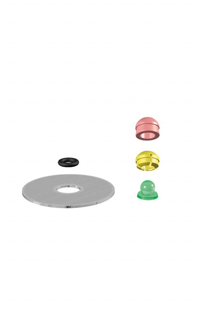 ALPHADENT NV 1252 - PRECI-CLIX AP: Dublierhilfsteil für Modellgussprothesen, Kunststoffpatrize zum Gießen