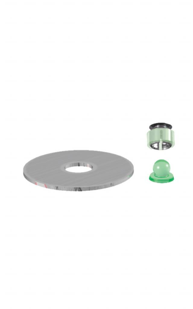 ALPHADENT NV 1205 - PRECI-BALL PC: Matrize zur Verankerung in Kunststoff, Kunststoffpatrize zum Gießen