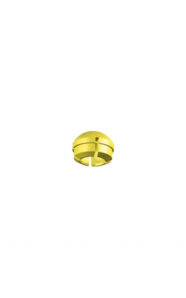ALPHADENT NV 1231 / 1231 B - PRECI-CLIX Matrize gelb: normale Retention (6 St. / 50 St.)