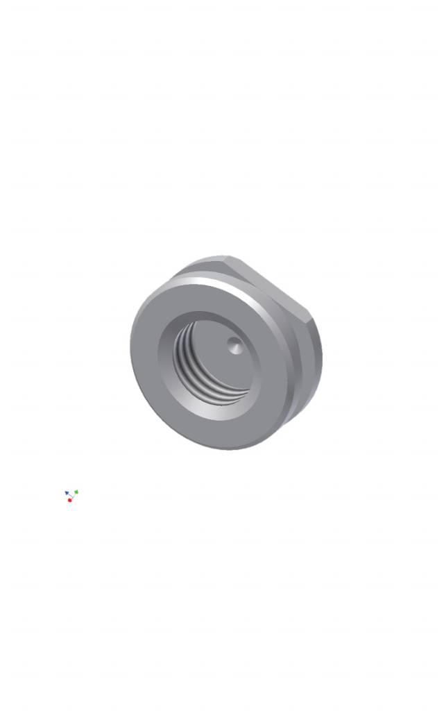 ALPHADENT NV RA 0064 - PRECI-BALL/CLIX/SAGIX: Basisring zum Angießen an NEM