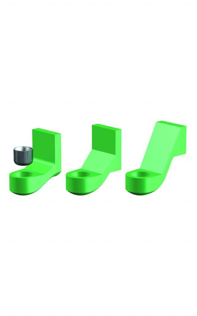 ALPHADENT NV RE 0100 TI - CEKA REVAX M2: Matrize zum Einkleben und 3 Matrizenhalter