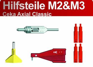 CEKA AXIAL CLASSIC - Hilfsteile M2 und M3