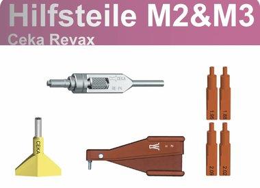 CEKA REVAX - Hilfsteile M2 und M3