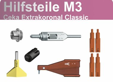 Ceka Extrakoronal Classic - Hilfsteile M3