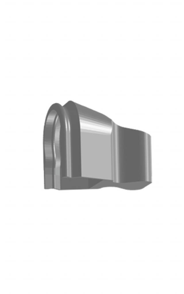 ALPHADENT NV 1375 / 1375 B - PRECI-SAGIX STANDARD: Gehäuse zum Einpolymerisieren oder Löten(2 St. / 20 St.)