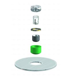 ALPHADENT NV RE 0785 TI - CEKA AXIAL REVERSE M2 & CAD/CAM - Matrize und Patrize zum Einkleben.