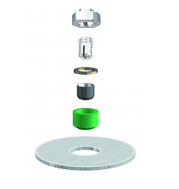 ALPHADENT NV RE 0761 TI - CEKA AXIAL REVERSE M2 & CAD/CAM - Matrize zum Einkleben in Stiftwurzelkappen oder in Stegkonstruktionen. Patrize zum Löten/Lasern.