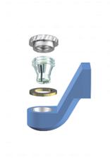 ALPHADENT NV OL 0295 NP - CEKA REVAX M3: Matrize zum Angießen an NEM, Retention für zirkuläre Kunststoffvernankerung