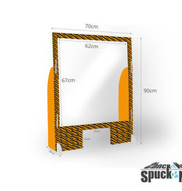 "SSP SCHULZ Dental-Produkte SpuckNo Spuckschutz ""Design"""