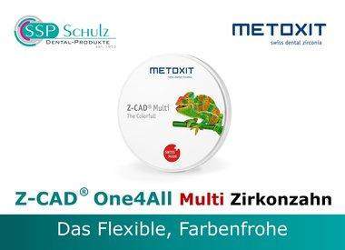 METOXIT - Z-CAD ® One4All Multi Zirkonzahn