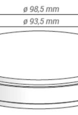 METOXIT Z-CAD® HD - 98.5x12mm