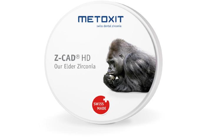 METOXIT Z-CAD® HD - 98.5x20mm