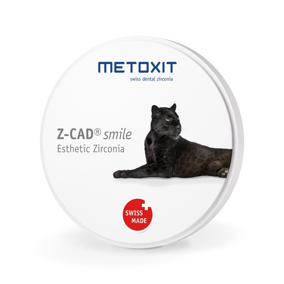 METOXIT Z-CAD® smile - 98.5x10mm