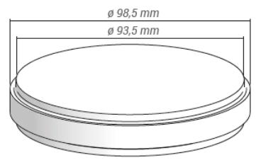 METOXIT Z-CAD® smile - 98.5x12mm