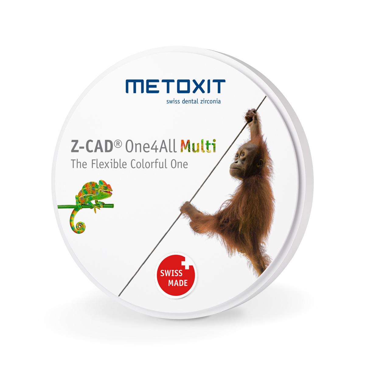 METOXIT Z-CAD® One4All Multi Zirkonzahn - 95x22mm