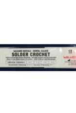 NOBIL METAL SOLDER CROCHET  LV00 (CEKA SOL CS00) - Lot in Röhrenform mit integriertem Flussmittel, gelb 780-820 °C