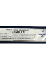 NOBIL METAL CROMOPAL LV23 (CEKA SOL CR CS23) - Lot in Röhrenform mit integriertem Flussmittel, weiß 1000-1030 °C