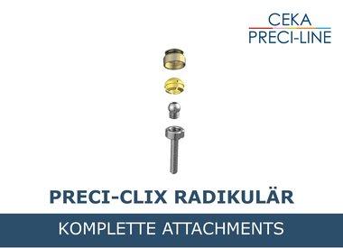 PRECI-CLIX RADIKULÄR Komplett-Sets