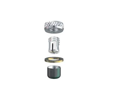 ALPHADENT NV RE 0185 TI CC - CEKA REVAX M2 CAD/CAM: Matrize und Retention zum Einkleben
