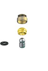 ALPHADENT NV 1271 CC - PRECICLIX TI-TI CAD/CAM: Matrizengehäuse zum Einpolymerisieren, Patrize zum Einkleben