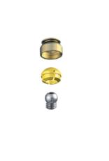 ALPHADENT NV 1261 CC - PRECI-CLIX CV CAD/CAM: Matrizengehäuse zum Einpolymerisieren, Patrize mit Gewinde