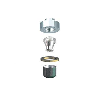 ALPHADENT NV OL 0261 TI CC - CEKA REVAX M3 CAD/CAM: Matrize zum Einkleben, Retention zum Löten/Lasern