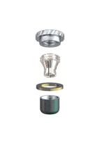 ALPHADENT NV OL 0295 TI CC - CEKA REVAX M3 CAD/CAM: Matrize zum Einkleben, Retention für zirkuläre Kunststoffverankerung