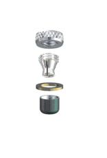 ALPHADENT NV OL 0285 TI CC - CEKA REVAX M3 CAD/CAM: Matrize und Retention zum Einkleben