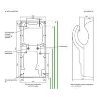 thumb-Airblade AB14 hand dryer Grey-3