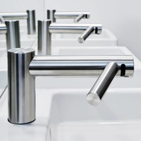 thumb-Airblade Wash+Dry handdroger WD04 Korte hals-3