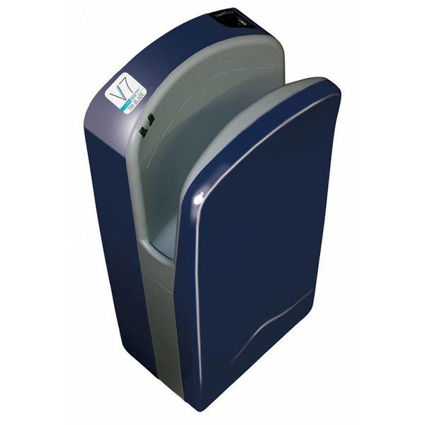 Veltia Tri-Blade Hand Dryer blue