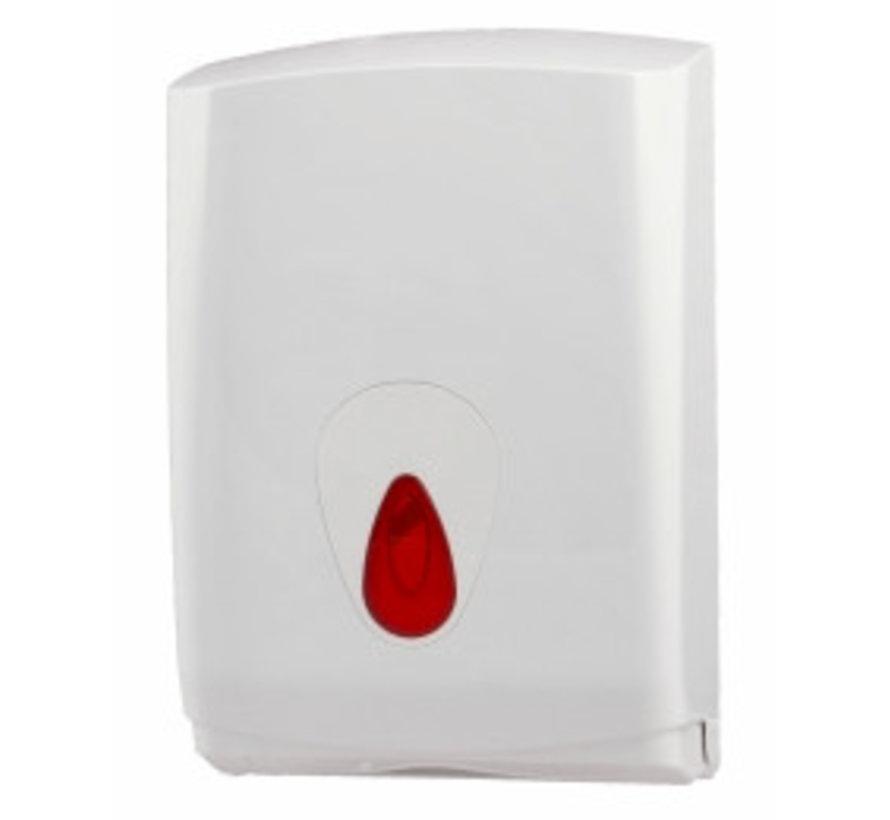 Handdoekdispenser midi kunststof groot