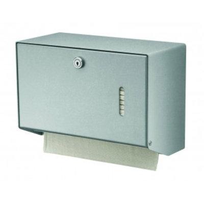 MediQo-line Handdoekdispenser aluminium klein
