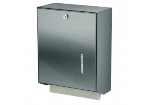 MediQo-line Handdoekdispenser RVS groot