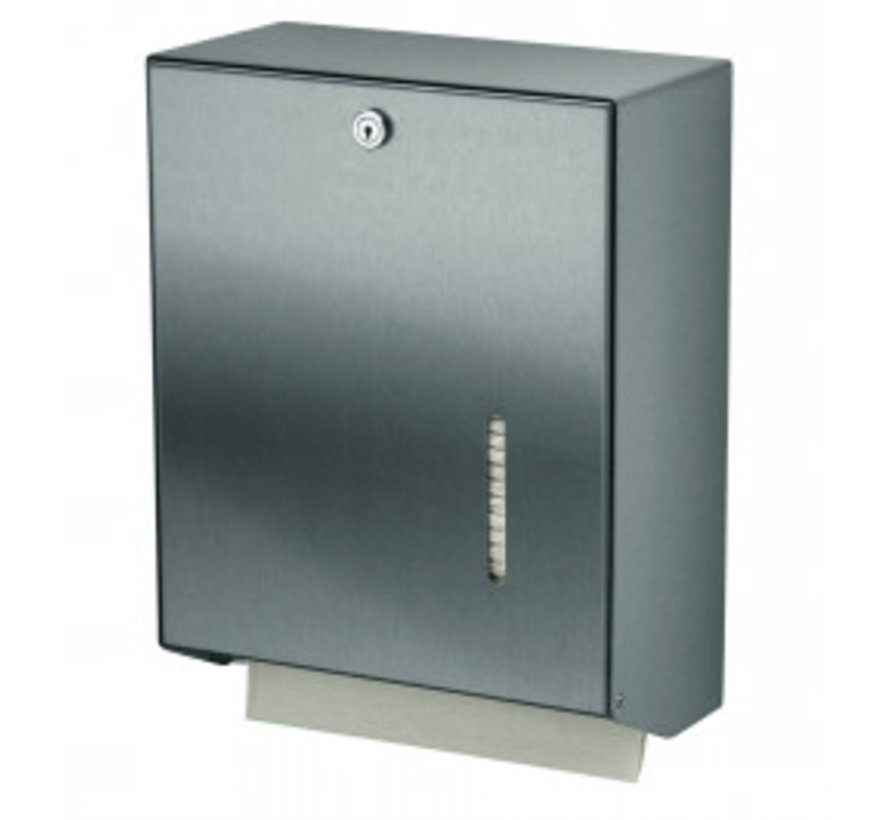 Handdoekdispenser RVS groot