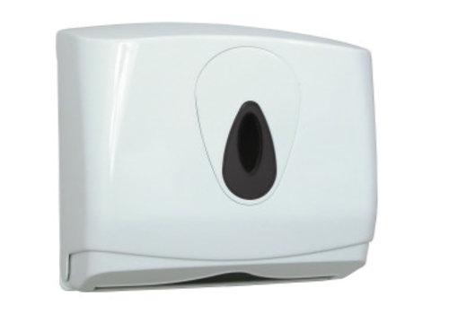 PlastiQline  Handdoekdispenser midi kunststof klein