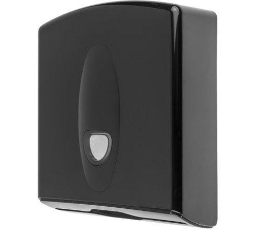 PlastiQline 2020 Handdoekdispenser midi kunststof zwart
