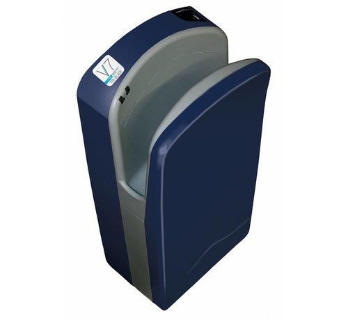 Veltia Tri-Blade Hand Dryer Deep Blue