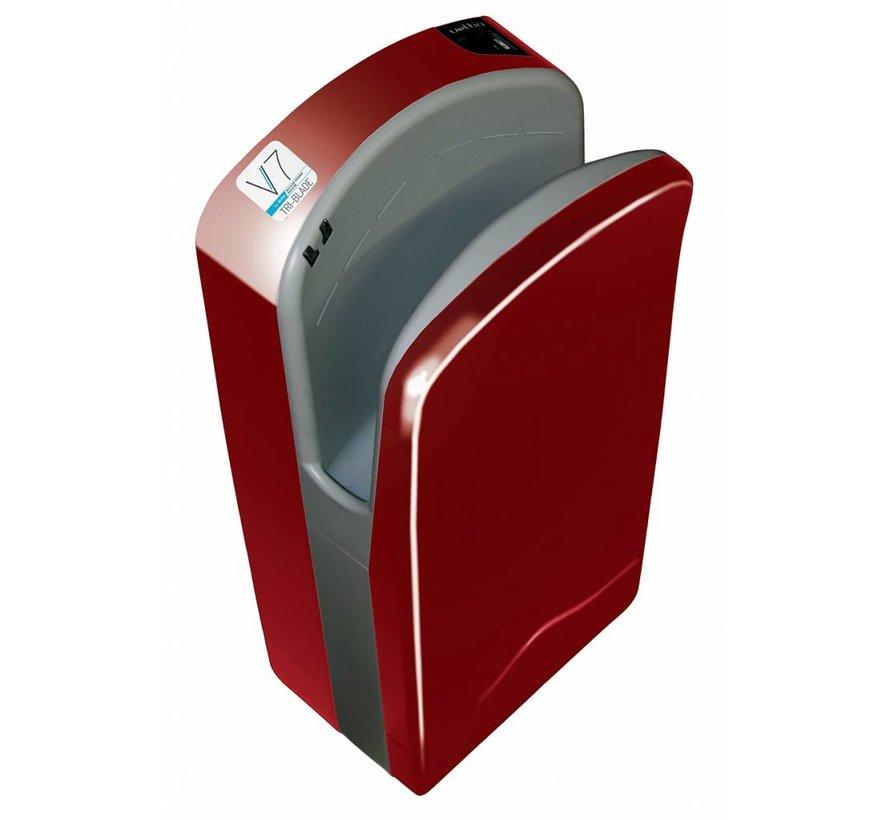 Tri-Blade Hand Dryer Cherry Red