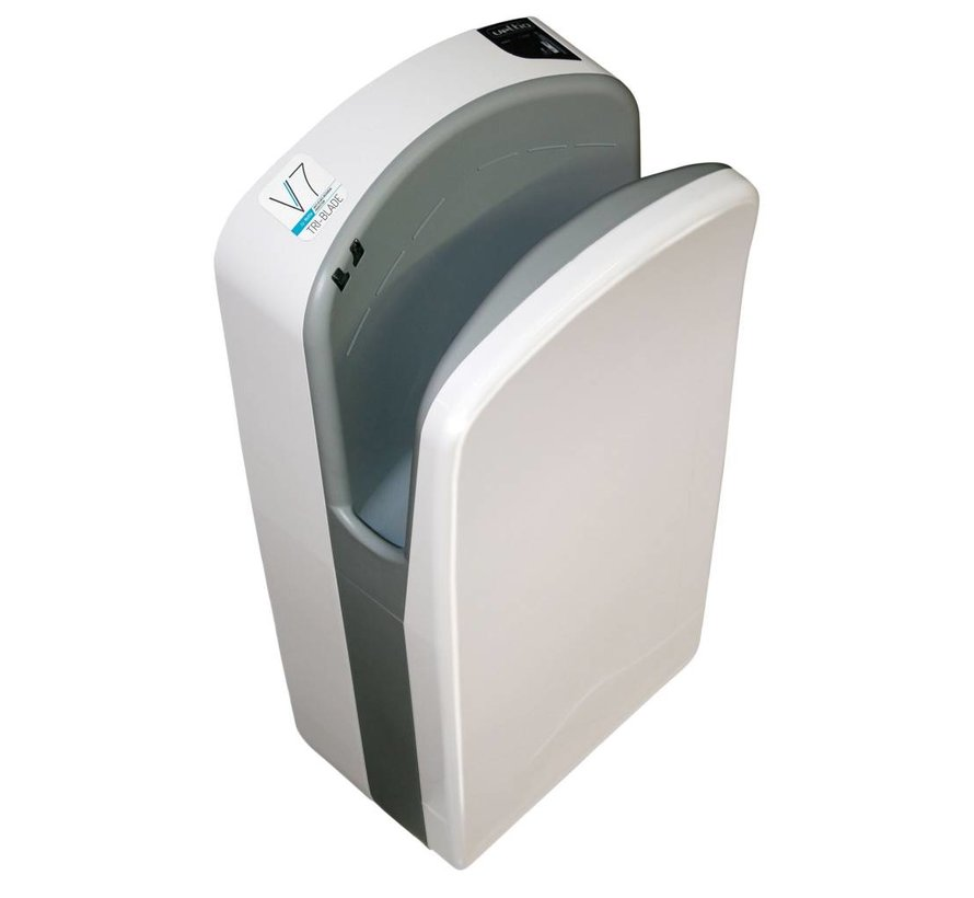 Tri-Blade Hand Dryer Black