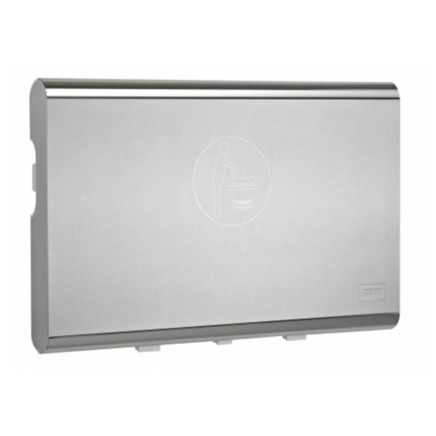 Baby changing table horizontal stainless steel-1