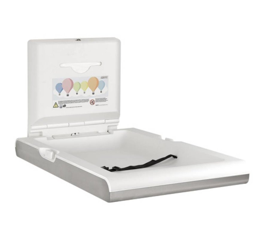 Baby changing table vertical stainless steel