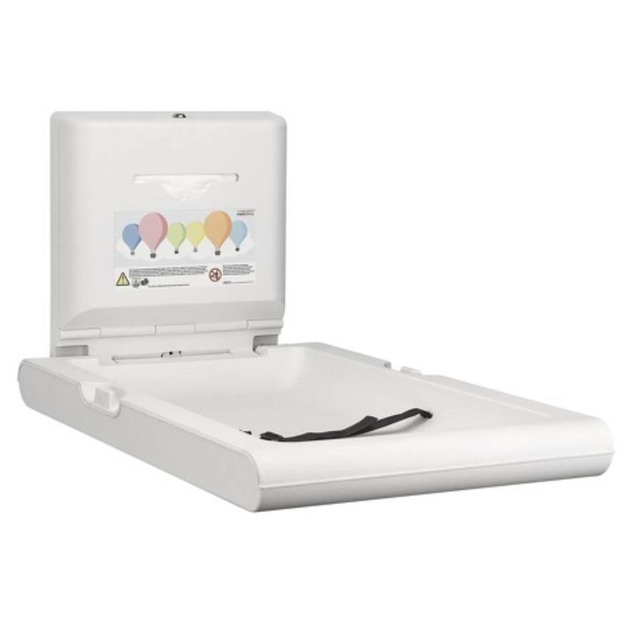 Baby changing table vertical white-2