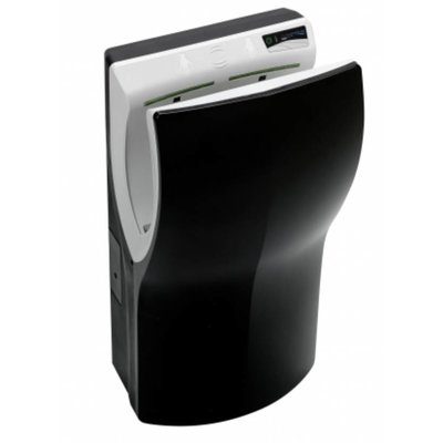 PlastiQline  Twinflow Black Hand dryer