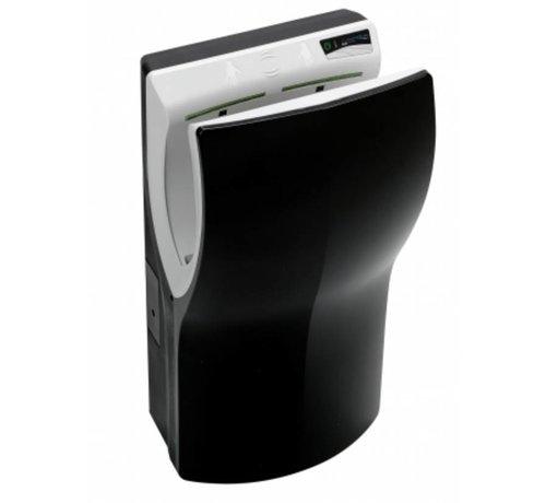 PlastiQline  Twinflow Zwart handdroger